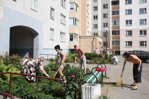 Десятки тысяч гродненцев приняли участие в городском субботнике (ФОТО), фото-5