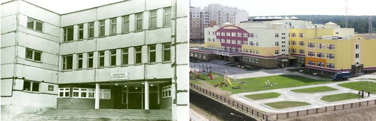Школьный новостройки в Гродно